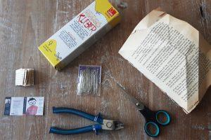 DIY book charms benodigdheden